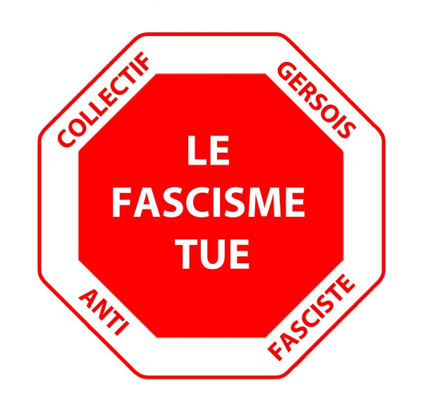 Logo Collectif gersois antifasciste OK